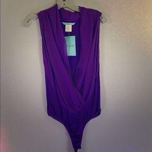 Purple Marciano top
